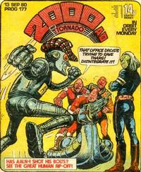 Cover Thumbnail for 2000 AD and Tornado (IPC, 1979 series) #177