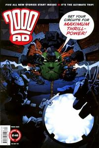Cover Thumbnail for 2000 AD (Rebellion, 2001 series) #1263