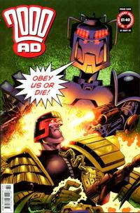 Cover Thumbnail for 2000 AD (Rebellion, 2001 series) #1269