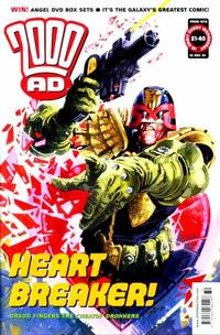 Cover Thumbnail for 2000 AD (Rebellion, 2001 series) #1272