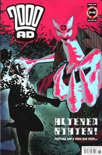 Cover Thumbnail for 2000 AD (Rebellion, 2001 series) #1276