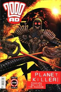 Cover Thumbnail for 2000 AD (Rebellion, 2001 series) #1279