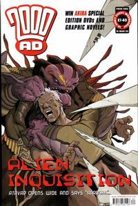 Cover Thumbnail for 2000 AD (Rebellion, 2001 series) #1282