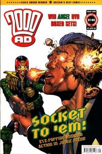 Cover Thumbnail for 2000 AD (Rebellion, 2001 series) #1286