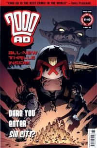 Cover Thumbnail for 2000 AD (Rebellion, 2001 series) #1289