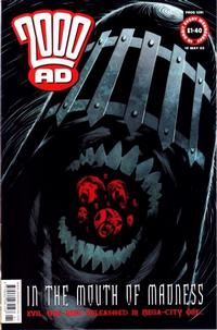 Cover Thumbnail for 2000 AD (Rebellion, 2001 series) #1291