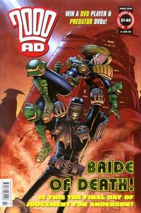 Cover Thumbnail for 2000 AD (Rebellion, 2001 series) #1294