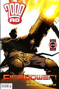 Cover Thumbnail for 2000 AD (Rebellion, 2001 series) #1295