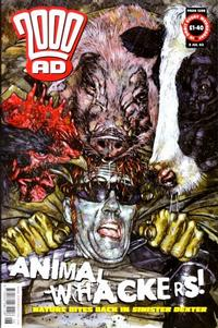 Cover Thumbnail for 2000 AD (Rebellion, 2001 series) #1298