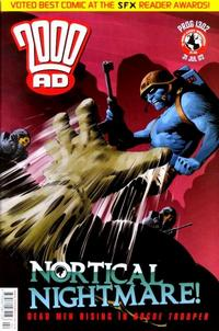 Cover Thumbnail for 2000 AD (Rebellion, 2001 series) #1302