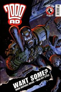 Cover Thumbnail for 2000 AD (Rebellion, 2001 series) #1318