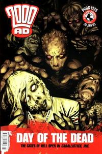 Cover Thumbnail for 2000 AD (Rebellion, 2001 series) #1325