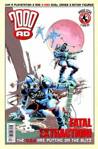 Cover Thumbnail for 2000 AD (Rebellion, 2001 series) #1334