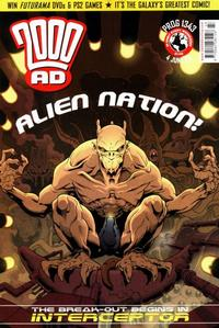 Cover Thumbnail for 2000 AD (Rebellion, 2001 series) #1343