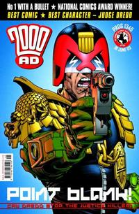 Cover Thumbnail for 2000 AD (Rebellion, 2001 series) #1345