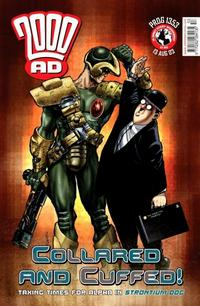 Cover Thumbnail for 2000 AD (Rebellion, 2001 series) #1353