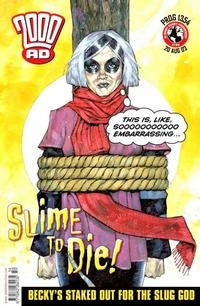 Cover Thumbnail for 2000 AD (Rebellion, 2001 series) #1354