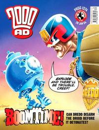 Cover Thumbnail for 2000 AD (Rebellion, 2001 series) #1374