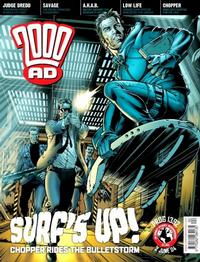 Cover Thumbnail for 2000 AD (Rebellion, 2001 series) #1392