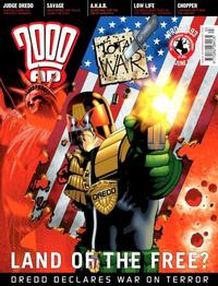 Cover Thumbnail for 2000 AD (Rebellion, 2001 series) #1393