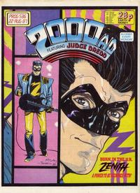 Cover Thumbnail for 2000 AD (Fleetway Publications, 1987 series) #536