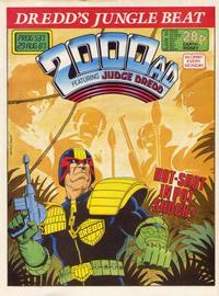 Cover for 2000 AD (Fleetway Publications, 1987 series) #537
