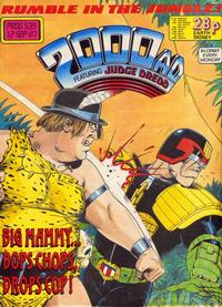 Cover Thumbnail for 2000 AD (Fleetway Publications, 1987 series) #539