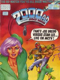 Cover Thumbnail for 2000 AD (Fleetway Publications, 1987 series) #541