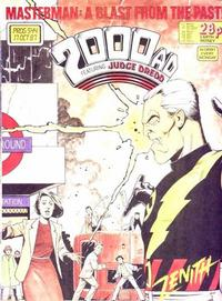 Cover Thumbnail for 2000 AD (Fleetway Publications, 1987 series) #544