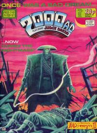 Cover Thumbnail for 2000 AD (Fleetway Publications, 1987 series) #548
