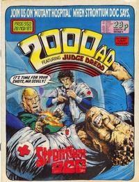 Cover Thumbnail for 2000 AD (Fleetway Publications, 1987 series) #550
