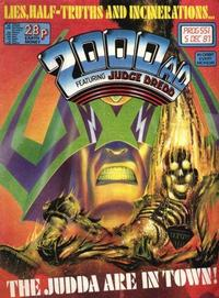 Cover for 2000 AD (Fleetway Publications, 1987 series) #551
