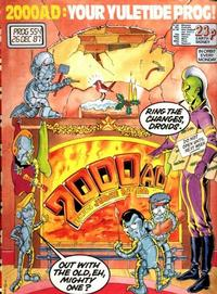 Cover Thumbnail for 2000 AD (Fleetway Publications, 1987 series) #554