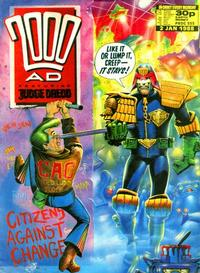 Cover Thumbnail for 2000 AD (Fleetway Publications, 1987 series) #555