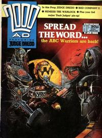 Cover Thumbnail for 2000 AD (Fleetway Publications, 1987 series) #556