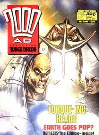 Cover Thumbnail for 2000 AD (Fleetway Publications, 1987 series) #557