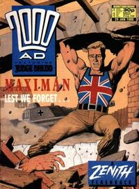 Cover Thumbnail for 2000 AD (Fleetway Publications, 1987 series) #558