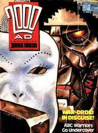 Cover for 2000 AD (Fleetway Publications, 1987 series) #573