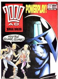 Cover for 2000 AD (Fleetway Publications, 1987 series) #580