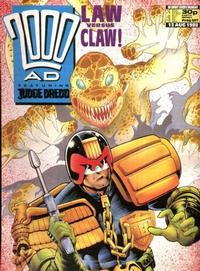 Cover Thumbnail for 2000 AD (Fleetway Publications, 1987 series) #587