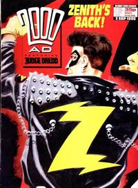 Cover Thumbnail for 2000 AD (Fleetway Publications, 1987 series) #590