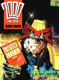 Cover Thumbnail for 2000 AD (Fleetway Publications, 1987 series) #601
