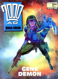 Cover Thumbnail for 2000 AD (Fleetway Publications, 1987 series) #602