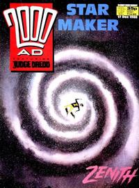 Cover for 2000 AD (Fleetway Publications, 1987 series) #605