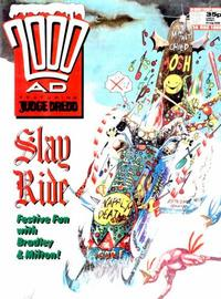 Cover Thumbnail for 2000 AD (Fleetway Publications, 1987 series) #606