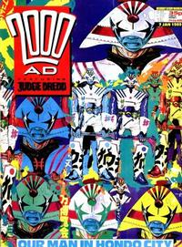 Cover Thumbnail for 2000 AD (Fleetway Publications, 1987 series) #608