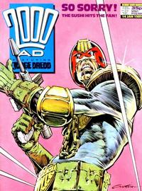 Cover Thumbnail for 2000 AD (Fleetway Publications, 1987 series) #609