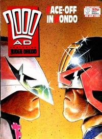 Cover Thumbnail for 2000 AD (Fleetway Publications, 1987 series) #611