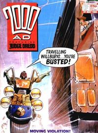 Cover for 2000 AD (Fleetway Publications, 1987 series) #628