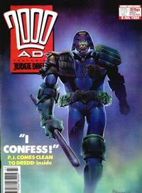 Cover for 2000 AD (Fleetway Publications, 1987 series) #634